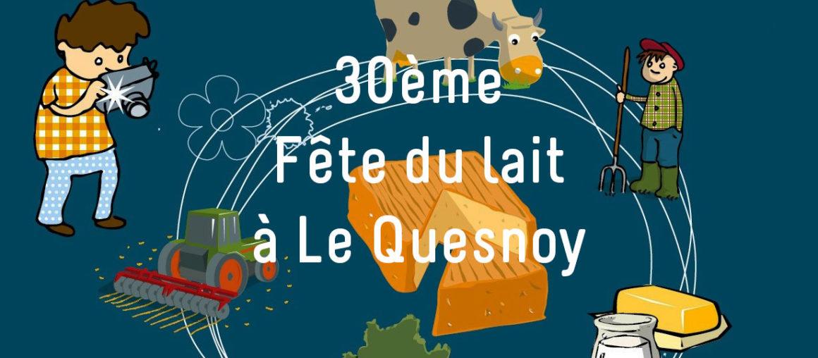 30ème Fête du Lait à Le Quesnoy (59)