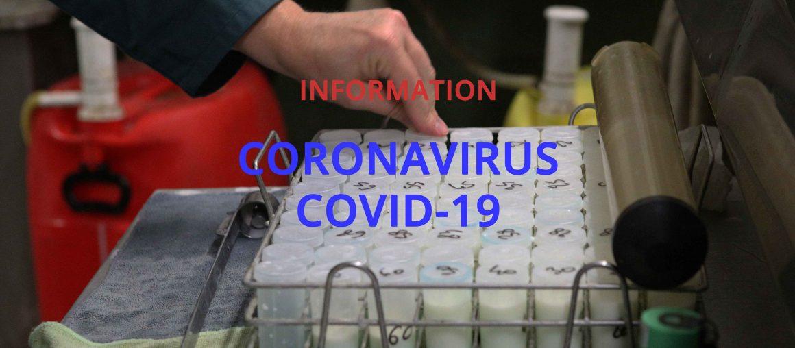 Mesures de luttes contre la propagation du virus Covid-19