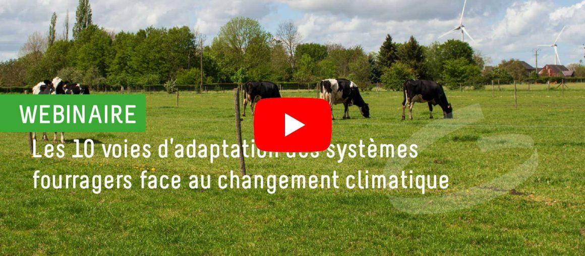 Les 10 voies d'adaptation du système fourrager au changement climatique